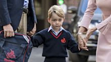 It's back to school for Prince George tomorrow - but there will be no photos to mark the occasion