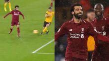 Cheeky Salah goal lights up the internet