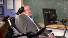 Stephen Hawking is going to space on a Virgin Galactic flight thanks to Sir Richard Branson