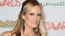 Who is the porn star who claims she had sex with Donald Trump four months after Melania gave birth?