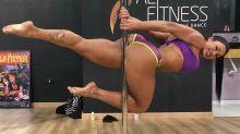 Gracyanne Barbosa sobre prática de pole dance: 'Sexualmente libertadora'