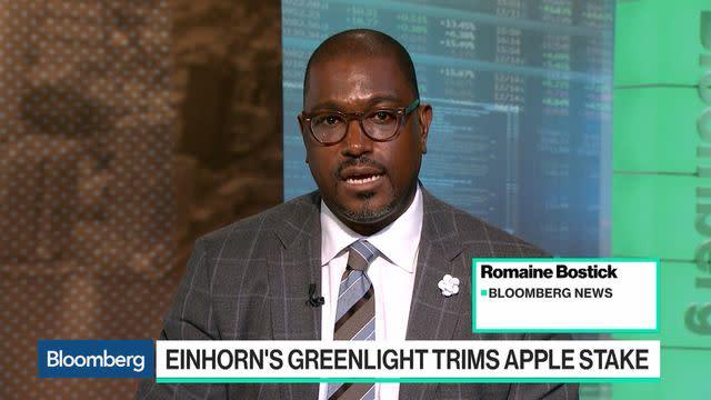 Einhorn's Greenlight Trims Apple Stake