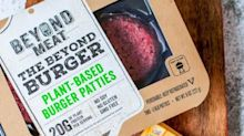 Beyond Meat's stock briefly tumbled after former investor Tyson Foods touts plans to sell plant-based nuggets