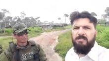 'Antropólogo' bolsonarista é preso ao tentar impedir trabalho do Ibama