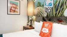 Taco Bell opens luxury, theme hotel as business booms
