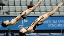 Chinese divers strike gold again, Daley grabs silver for Britain