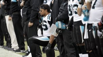 Panthers' Reid calls Jenkins 'sellout' in protest movement