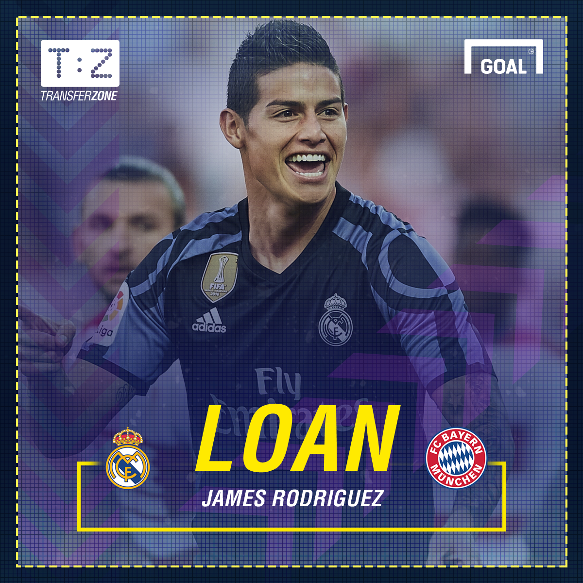 7dbc93c8820 Real Madrid s James Rodriguez signs for Bayern Munich on loan
