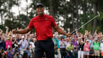 Tiger roasts gambler who bet on him for Grand Slam