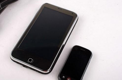 Keepin' it real fake: the Shanshui P72 is the oversized, XP-running iPhone you've always secretly wanted