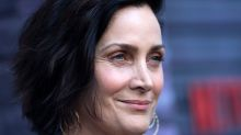 'Matrix' star Carrie-Anne Moss says she was offered a grandma role 'literally the day after my 40th birthday'