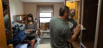 Michigan university puts campus living to test