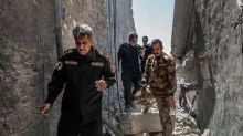 """Iraqi PM declares """"the end of the Daesh state of falsehood"""" after capture of Mosul mosque"""