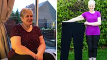 A size 22 woman who spent £70 a week on takeaways sheds an incredible nine stone