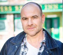 Coronation Street's Tim Metcalfe is shocked to hear that Geoff tried to visit Yasmeen
