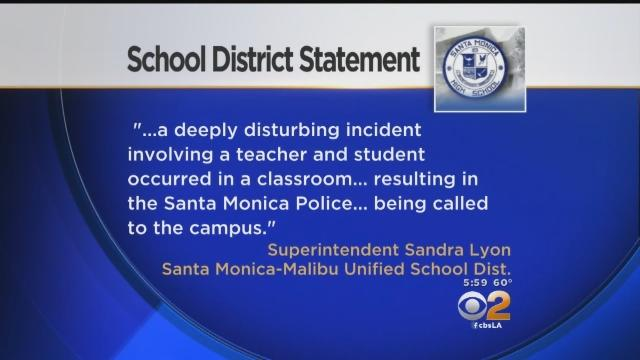 Police Investigating Fistfight Between Student, Teacher At Santa Monica High School
