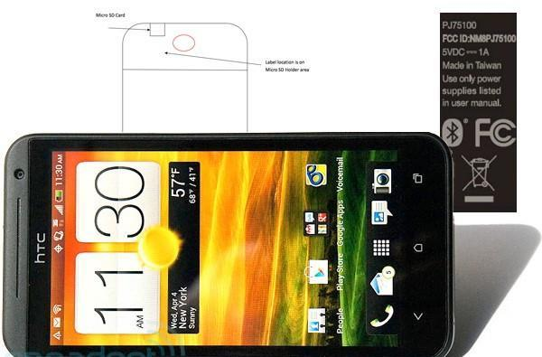 Sprint's HTC EVO 4G LTE zips into the FCC, zips back out again