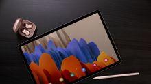 Samsung Galaxy Tab S7+ 也引進了 120Hz 高刷新率