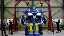 Autobots Roll Out! - transforming robot unveiled in Japan