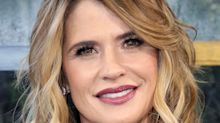 Kristy Swanson calls out teacher at son's school for not standing for the Pledge of Allegiance