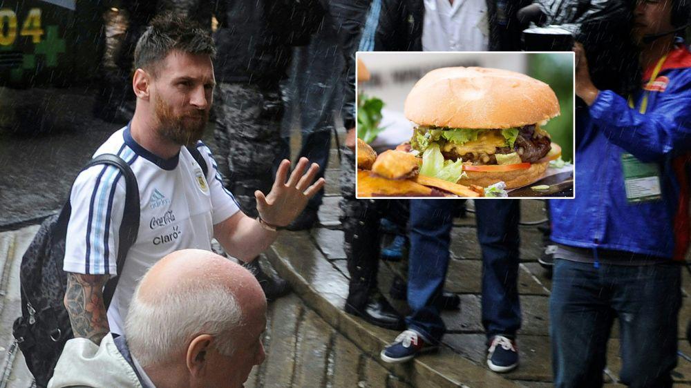 Argentina, nasce l''hamburger Messi' in un fast food di Buenos Aires