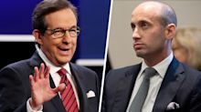 Fox News' Chris Wallace spars with Stephen Miller over Trump's call to use attorneys to seek dirt on Joe Biden