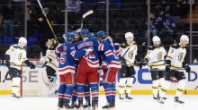 Bruins Offense Sputters As Boston Drops Second Straight In New York