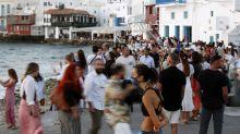 Brote de coronavirus en crucero en aguas griegas