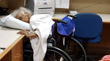 'Disturbing' photo of elderly woman face down in pillow at nursing home