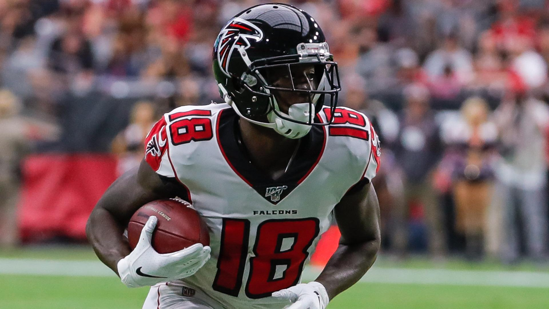 With Sanu Gone Is Calvin Ridley Lined Up For Fantasy Success Video