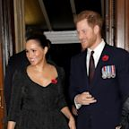 Prince Harry and Meghan Markle Finally Appear Alongside William and Kate