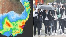 'Wet end to the week': NSW set for a deluge as wet weather continues