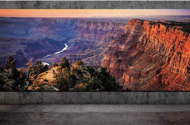 Samsung's next The Wall TV can stretch to 292 inches with 8K