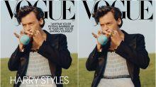 Harry Styles, el primer hombre que protagoniza en solitario la portada de Vogue en Estados Unidos