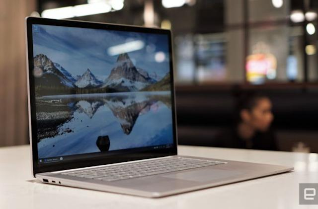 Microsoft will reportedly offer AMD CPUs across its Surface Laptop 4 lineup