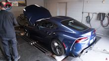 2021 Toyota Supra dyno run reveals more power and torque than advertised