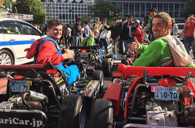 Nintendo may have put an end to Tokyo's real-life 'Mario Kart' tours
