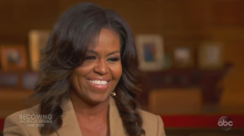 Michelle Obama says smoking pot was 'part of her becoming story'