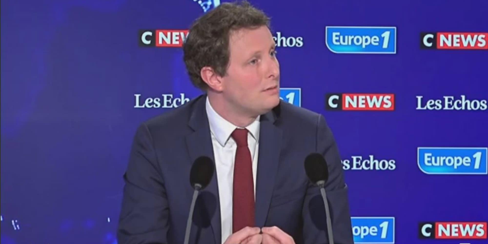 """Régionales : Clément Beaune dénonce au sein de LR """"un camp de l'ambiguïté"""" vis-à-vis du RN"""