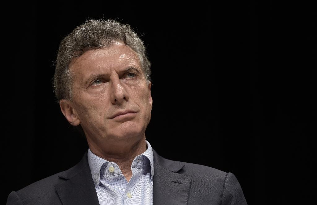 """Argentina's new President Mauricio Macri said he wants to start """"a new era"""" in relations with Britain (AFP Photo/Jaun Mabromata)"""