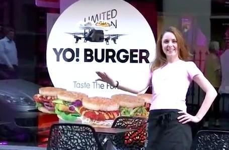 Video: London resturant delivers food via iPad-controlled quadrocopter