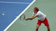 Zverev, molesto ante las críticas a su juego de Martina Navratilova