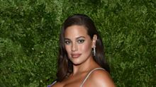 Pregnant Ashley Graham strips down for yoga photo shoot: 'Open to surrender'