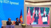 RCEP政經連環套:看中美外交角力