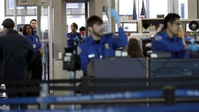 TSA screener sickouts hit 10 percent over holiday weekend