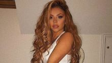 Jesy Nelson poses in underwear as she shakes off Piers Morgan's 'sex sells your records' jibes