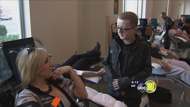 Fresno teen inspires many to make life-saving donations
