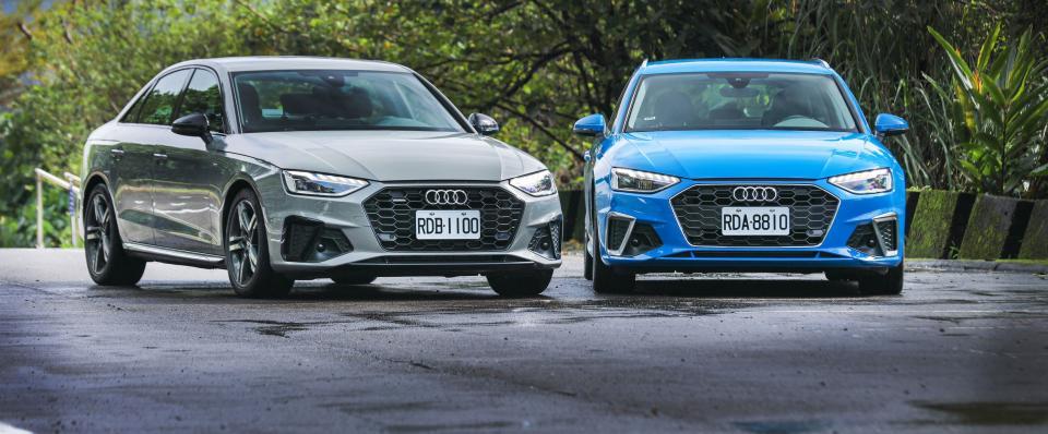 高顏值四環經典!該選quattro嗎?Audi A4 Sedan / Avant
