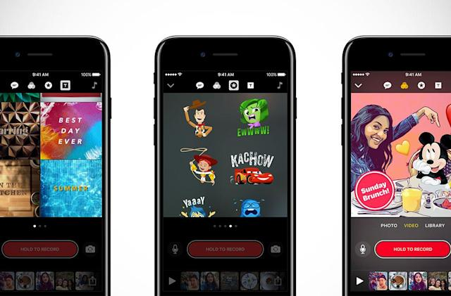 Apple wants you to gussy up your Clips videos with Disney art