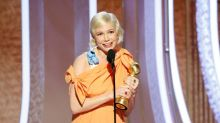 Michelle Williams urges women to 'vote in their own self-interest' in powerful Golden Globes speech